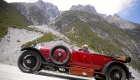 Climbing the Alps in a 90 year old Bentley